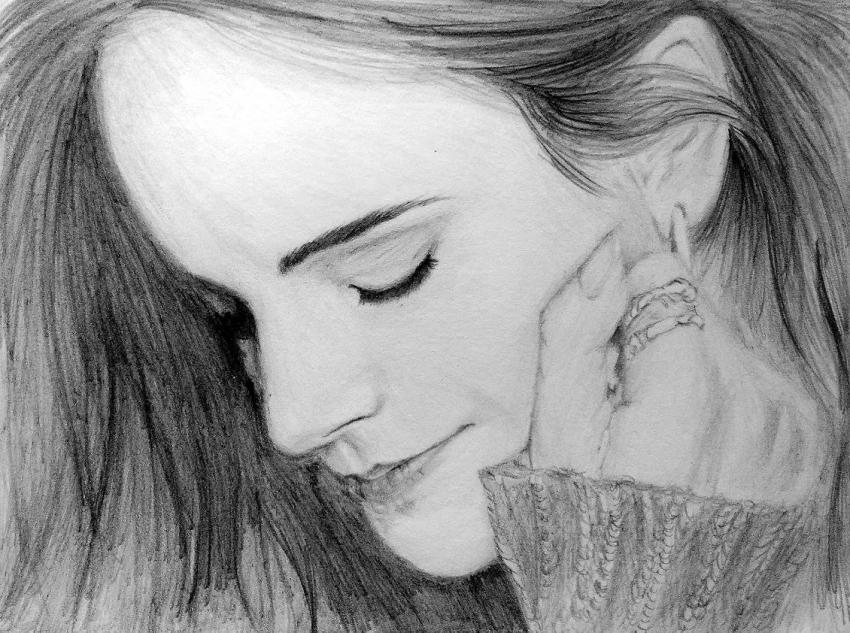 Emma Watson by linshyhchyang